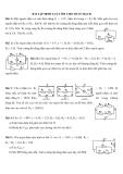 Bài tập môn Vật lý lớp 11: Định luật Ôm cho toàn mạch