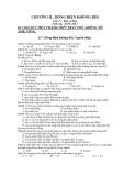 Đề cương ôn tập môn Vật lý lớp 11 năm học 2011 - 2012 - Trường THPT Trần Phú - Krong Nô - Đắk Nông