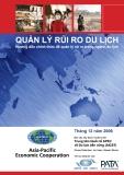 Ebook Quản lý rủi ro du lịch - Hướng dẫn chính thức để quản lý rủi ro trong ngành du lịch: Phần 1