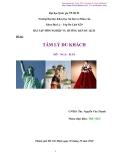 Tiểu luận: Tâm lý du khách Mỹ - Nga - Hàn