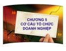 Bài giảng Quản trị kinh doanh: Chương 5 - PGS.TS. Trần Việt Lâm