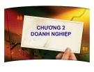 Bài giảng Quản trị kinh doanh: Chương 2 - PGS.TS. Trần Việt Lâm