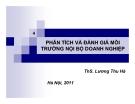 Bài giảng Quản trị chiến lược: Chương 4 - Ths. Lương Thu Hà