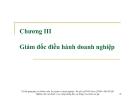 Bài giảng Quản trị doanh nghiệp: Chương 3 - Ths. Lương Thu Hà