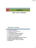 Bài giảng Quản trị học: Chương 6