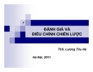Bài giảng Quản trị chiến lược: Chương 7 - Ths. Lương Thu Hà