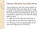 Bài giảng Bảo hiểm đại cương: Chương 6 - TS. Nguyễn Tấn Hoàng