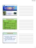 Bài giảng Vi sinh vật học: Chương 1 - ThS. Nguyễn Thành Luân