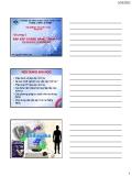Bài giảng Tin sinh học: Chương 3 - ThS. Nguyễn Thành Luân