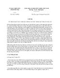 Chỉ thị 10/CT-UBND năm 2013 tỉnh Phú Thọ