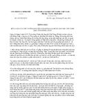 Thông báo 352/TB-VPCP năm 2013