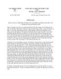 Thông báo 361/TB-VPCP năm 2013