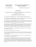 Quyết định 03/2013/QĐ-UBND thành phố Hồ Chí Minh