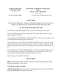 Quyết định 33/2013/QĐ-UBND tỉnh Trà Vinh