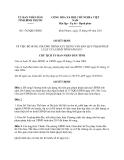 Quyết định 1765/QĐ-UBND năm 2013