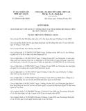 Quyết định 509/2013/QĐ-UBND