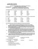 Đề thi tuyển sinh hệ THPT Chuyên Ngoại ngữ năm 2013 môn Tiếng Anh - Trường ĐH Ngoại ngữ