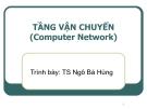 Bài giảng Mạng máy tính: Chương 8 - TS. Ngô Bá Hùng