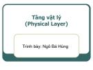 Bài giảng Mạng máy tính: Chương 4 - TS. Ngô Bá Hùng