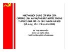 Bài giảng Những nội dung cơ bản của cương lĩnh xây dựng đất nước trong thời kỳ quá độ lên chủ nghĩa xã hội - GV. Thạch Kim Hiếu