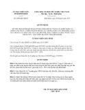 Quyết định 2509/QĐ-UBND năm 2013 tỉnh Bình Định