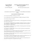 Quyết định 446/2013/QĐ-UBND