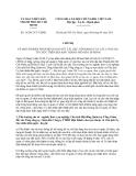 Chỉ thị 16/2013/CT-UBND