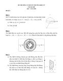 Đề thi môn Lý thuyết trường điện từ