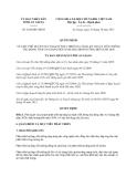 Quyết định 2188/QĐ-UBND năm 2013
