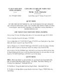 Quyết định 1993/QĐ-UBND năm 2013