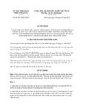 Quyết định 08/2013/QĐ-UBND tỉnh Vĩnh Long