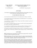 Quyết định 13/2013/QĐ-UBND tỉnh Cà Mau