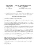 Quyết định 543/QĐ-UBND năm 2013
