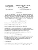 Quyết định 6239/QĐ-UBND năm 2013