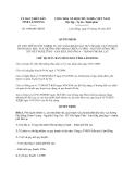 Quyết định 1998/QĐ-UBND năm 2013