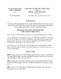 Nghị quyết 08/NQ-HĐND năm 2013 thành phố Ninh Bình