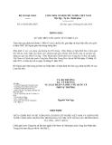 Bộ ngoại giao số: 15/2014/TB-LPQT