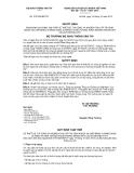 Quyết định 3191/QĐ-BGTVT năm 2013