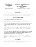 Quyết định 38/2013/QĐ-UBND tỉnh Bình Định