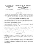 Quyết định 1992/QĐ-UBND năm 2013 tỉnh Lâm Đồng
