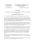 Quyết định 06/2013/QĐ-UBND huyện Củ Chi