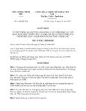 Quyết định 1949/QĐ-TTg năm 2013