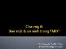Bài giảng Thương mại điện tử: Chương 6 - ThS. Nguyễn Thị Bích Trâm
