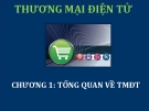 Bài giảng Thương mại điện tử: Chương 1 - ThS. Thái Kim Phụng