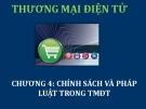 Bài giảng Thương mại điện tử: Chương 4 - ThS. Thái Kim Phụng