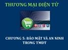 Bài giảng Thương mại điện tử: Chương 5 - ThS. Thái Kim Phụng