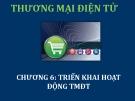Bài giảng Thương mại điện tử: Chương 6 - ThS. Thái Kim Phụng
