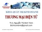 Bài giảng Thương mại điện tử: Chương 1 - ThS. Nguyễn Thị Bích Trâm