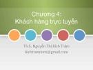 Bài giảng Thương mại điện tử: Chương 4 - ThS. Nguyễn Thị Bích Trâm
