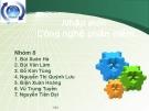 Bài thuyết trình: Nhập môn Công nghệ phần mềm - Chương 3